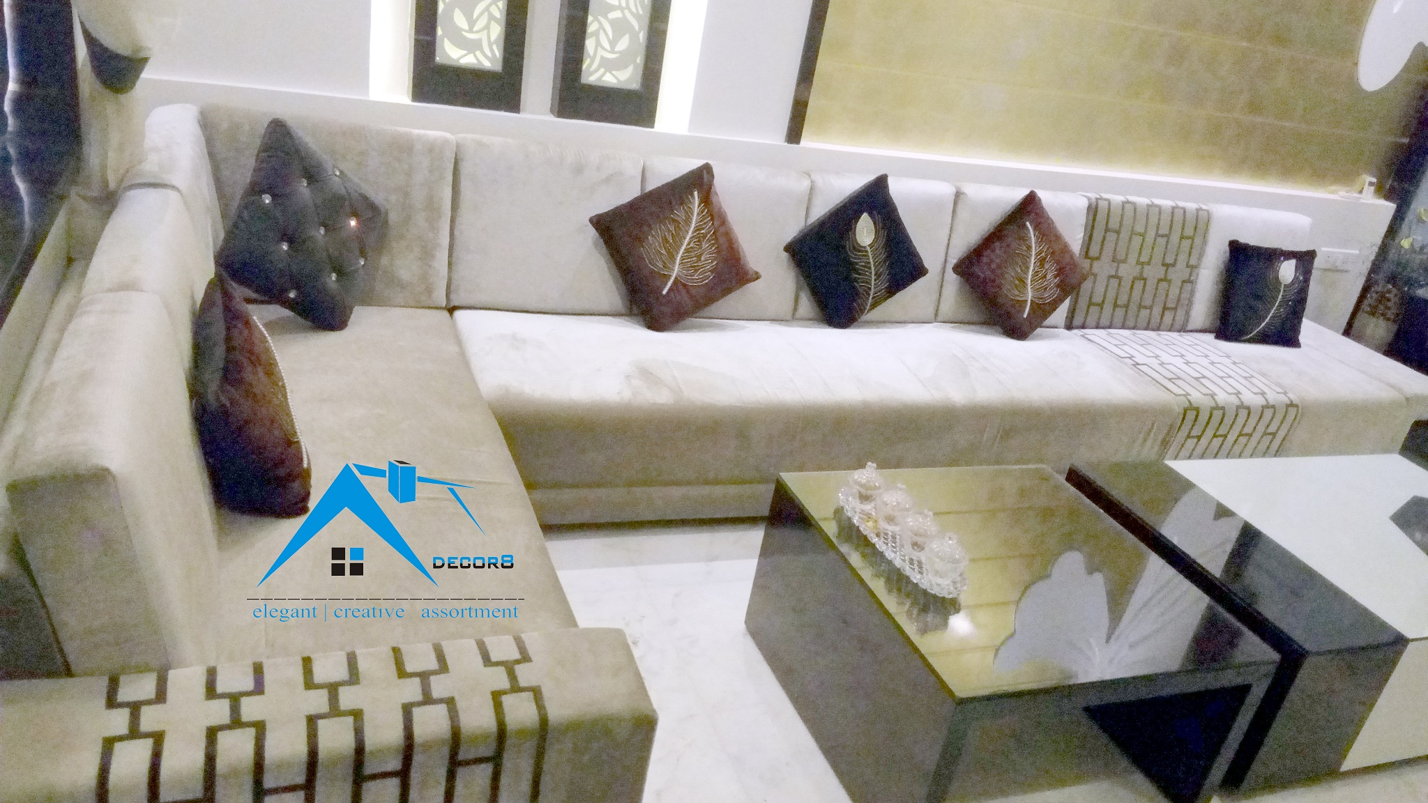 Drawing Room Interior Design - Meerut Interior Designer