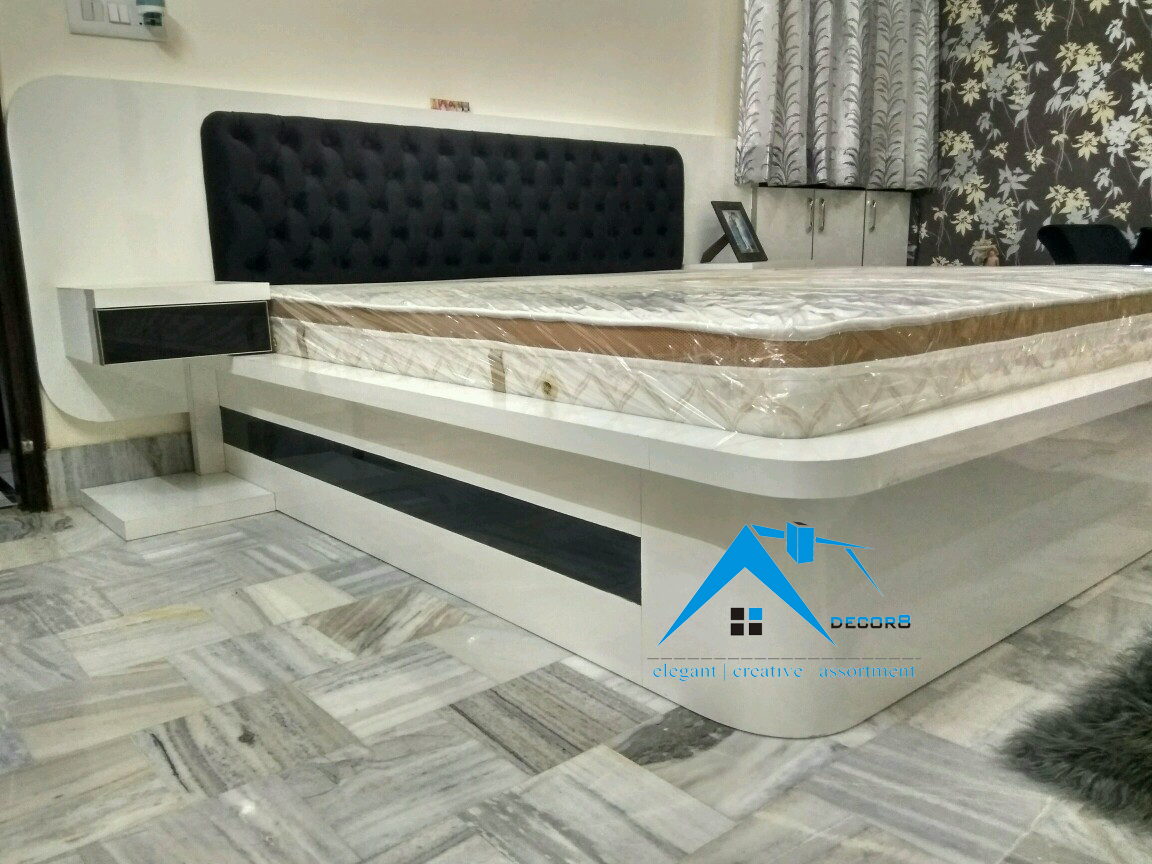 bed design by decorator in meerut